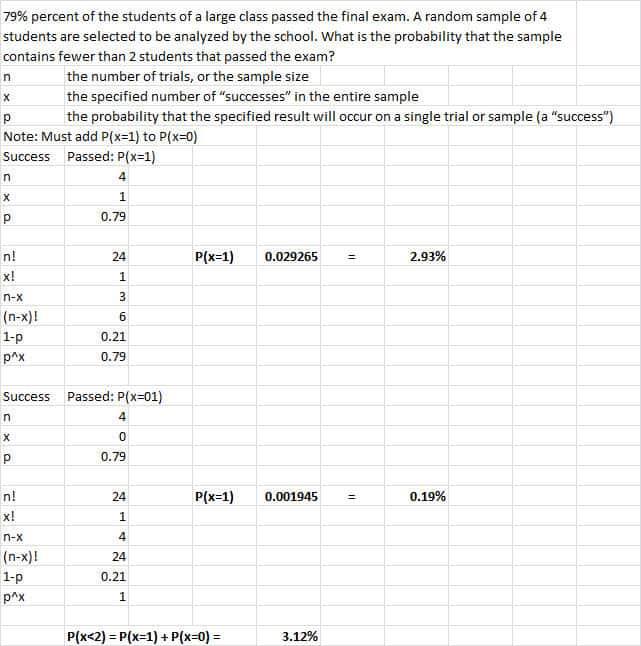 binomial successes 4
